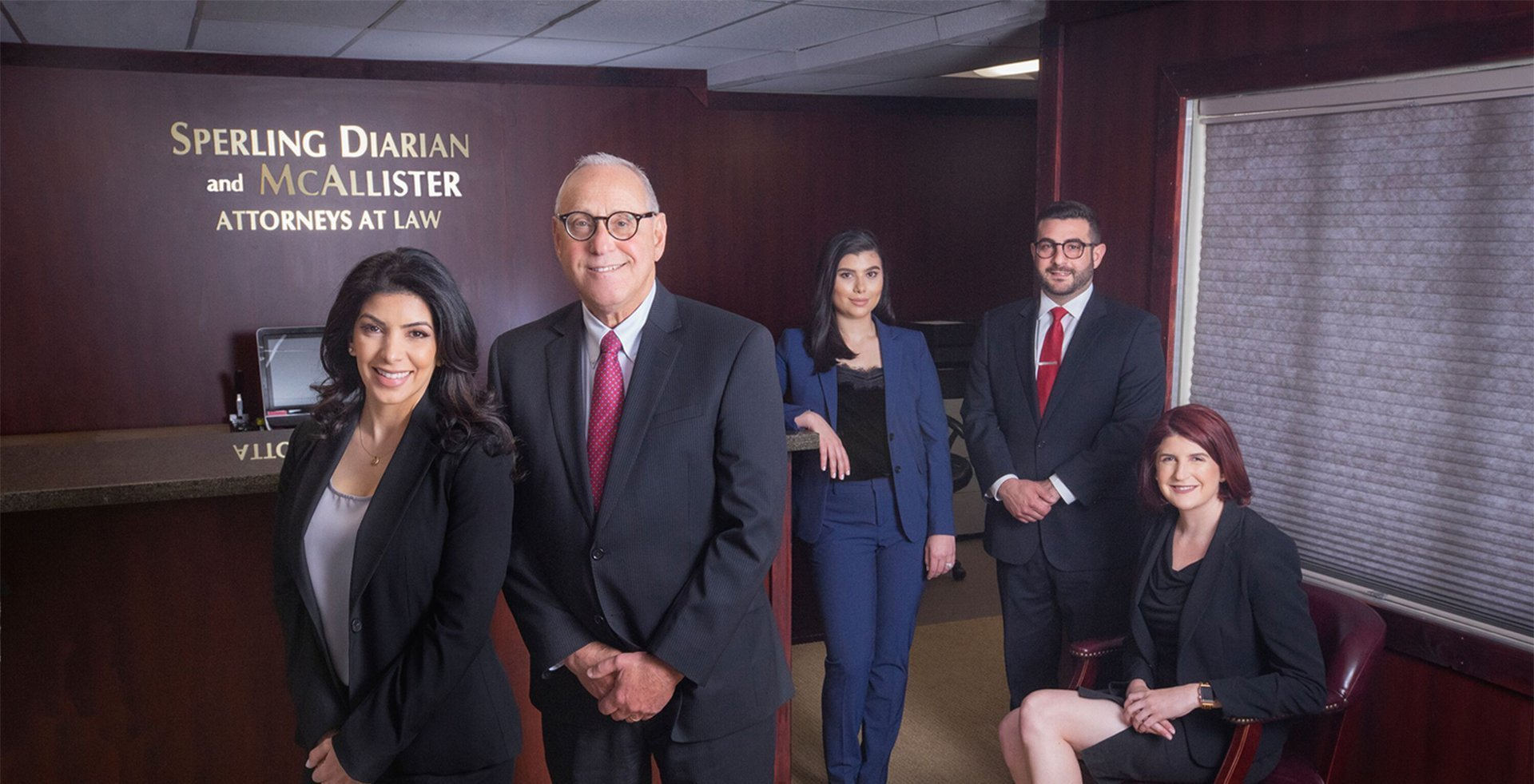 sperling law firm attorney group photo